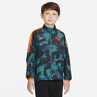 Chelsea FC Repel Academy AWF Big Kids' Nike Dri-FIT Soccer Jacket