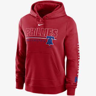 Nike Outline Club (MLB Philadelphia Phillies) Women's Pullover Hoodie