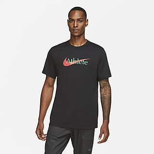 Nike Dri-FIT Ανδρικό T-Shirt προπόνησης με Swoosh
