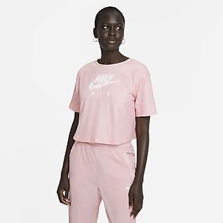 Nike Air Prenda para la parte superior de manga corta de malla para mujer