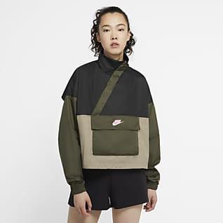 Nike Sportswear Icon Clash Anorak in woven - Donna