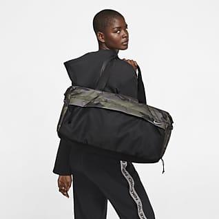 Nike Radiate Женская сумка-дафл с камуфляжным принтом для тренинга