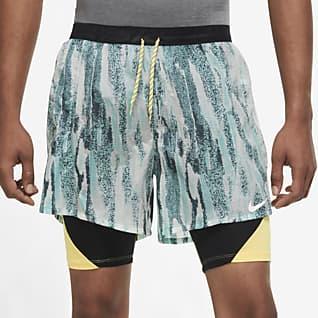 Nike Flex Stride Wild Run Löparshorts 2-i-1 för män