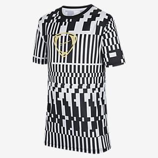 Nike Dri-FIT Academy Fodbold-T-shirt til større børn