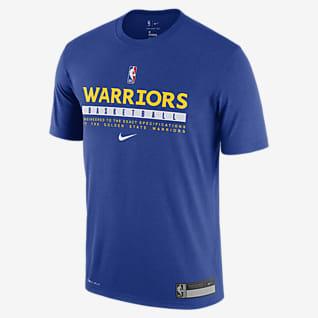 Warriors Practice T-shirt Nike Dri-FIT NBA - Uomo