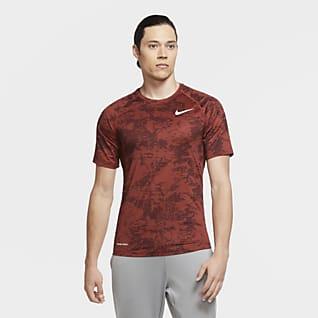 Nike Pro Men's Camo Short-Sleeve Top
