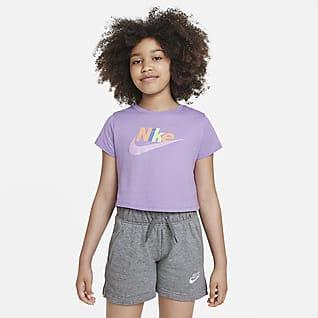 Nike Sportswear Playera corta para niñas talla grande