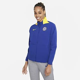 Chelsea FC Chamarra de fútbol para mujer