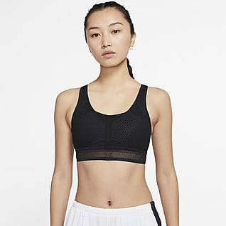 Nike Swoosh UltraBreathe Women's Medium-Support 1-Piece-Pad Sports Bra