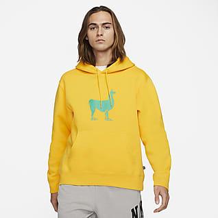 Nike SB Sudadera con capucha de skateboarding de tejido Fleece
