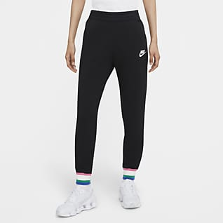 Nike Sportswear Heritage Joggingbyxor i fleece för kvinnor