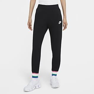 Nike Sportswear Heritage Pantaloni jogger in fleece - Donna