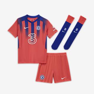 Chelsea FC 2020/21 (wersja trzecia) Strój piłkarski dla małych dzieci