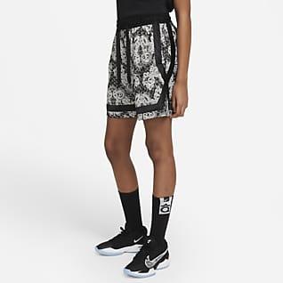Nike Fly Crossover Mønstret basketshorts til dame