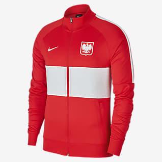 Polen Herren-Fußballjacke