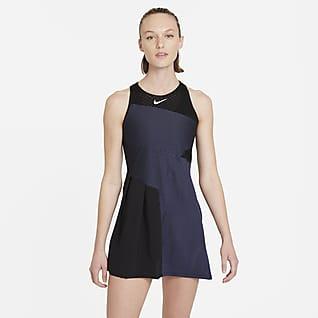 NikeCourt Dri-FIT ADV Slam Γυναικείο φόρεμα τένις