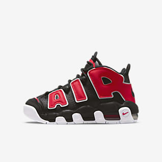 Nike Air More Uptempo Big Kids' Shoes