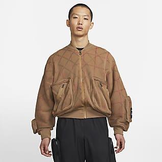 Nike x Undercover เสื้อแจ็คเก็ตบอมเบอร์ถัก MA-1