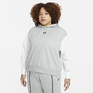 Nike Sportswear Icon Clash Huvtröja för kvinnor (stora storlekar)