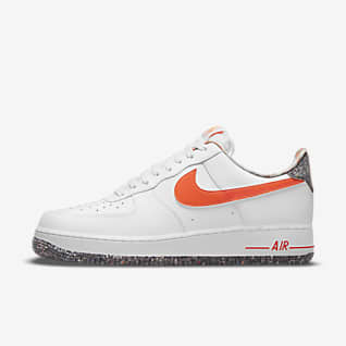 air force 1 bianche e rosse basse