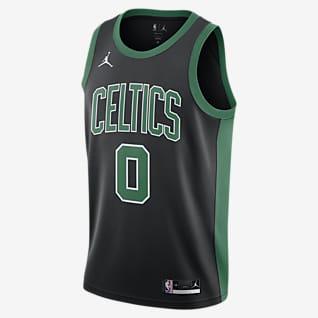 Jayson Tatum Celtics Statement Edition2020 Maillot Jordan NBA Swingman