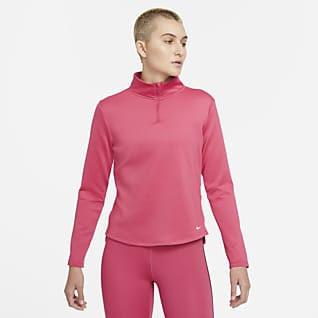Nike Therma-FIT One Camiseta de medio cierre con manga larga para mujer