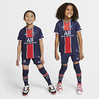 2020/21 赛季巴黎圣日耳曼主场 幼童足球套装