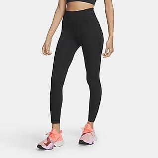 Nike One Luxe Legginsy damskie 7/8 w sznurowanym stylu