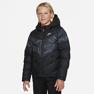 Nike Sportswear Jakke med  fôoring til store barn