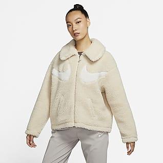 Nike Sportswear Swoosh 女子全长拉链开襟夹克