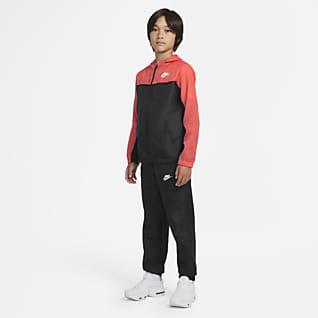 Nike Sportswear Conjunto de entrenamiento tejido para niños talla grande