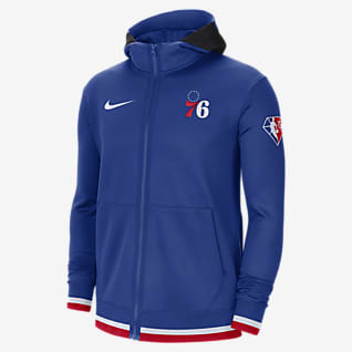 Philadelphia 76ers Nike Showtime Men's Nike Dri-FIT NBA Full-Zip Hoodie