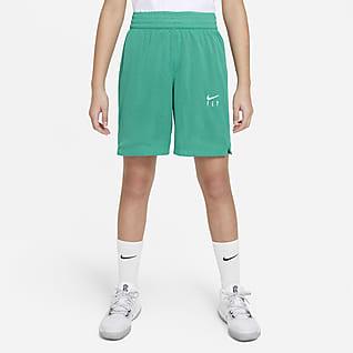 Nike Dri-FIT Fly Essentials Shorts de entrenamiento para niña talla grande