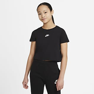 Nike Sportswear Older Kids' (Girls') Crop T-Shirt