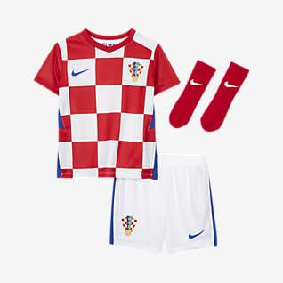 Домашняя форма сборной Хорватии 2020 Футбольный комплект для малышей