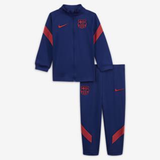 FC Barcelona Strike Stickad tracksuit för baby