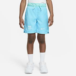 Nike Sportswear 巴萨 大童(男孩)梭织短裤