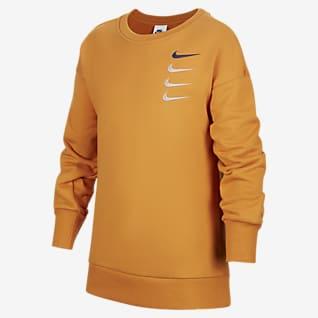 Nike Sportswear Swoosh 大童(男孩)运动衫
