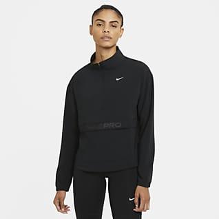 Nike Pro Veste tissée repliable pour Femme