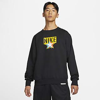 Nike Standard Issue Basketbalsweatshirt met ronde hals voor heren