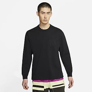 Nike Sportswear 男子长袖口袋T恤