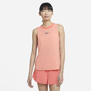 NikeCourt Advantage Tennistanktop voor dames