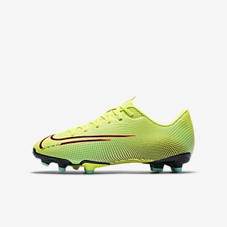 Details about Nike Mercurial Vapor X VIII Academy MG 2019 Soccer Shoes Kids Youth Blue White