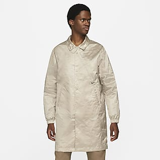 Nike Sportswear Style Essentials Lange Coach-Jacke für Herren