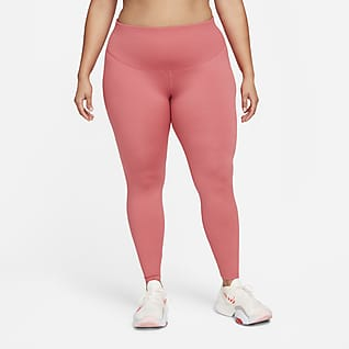 Nike One Γυναικείο κολάν μεσαίου ύψους (μεγάλα μεγέθη)