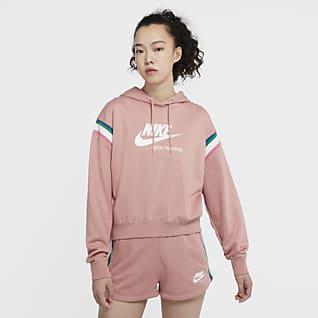 Nike Sportswear Heritage Pullover-hættetrøje til kvinder