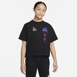Nike Sportswear Big Kids' (Girls') Boxy T-Shirt