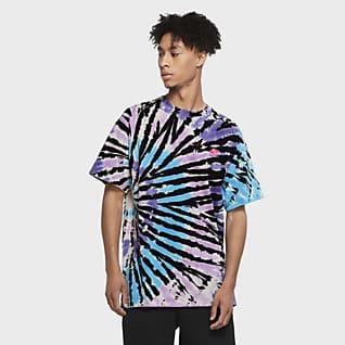 Nike Sportswear Męski T-shirt barwiony metodą Tie Dye