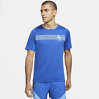 Nike Rise 365 BRS Kurzarm-Laufoberteil für Herren