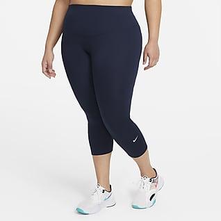 Nike One Women's Mid-Rise Crop Leggings (Plus Size)